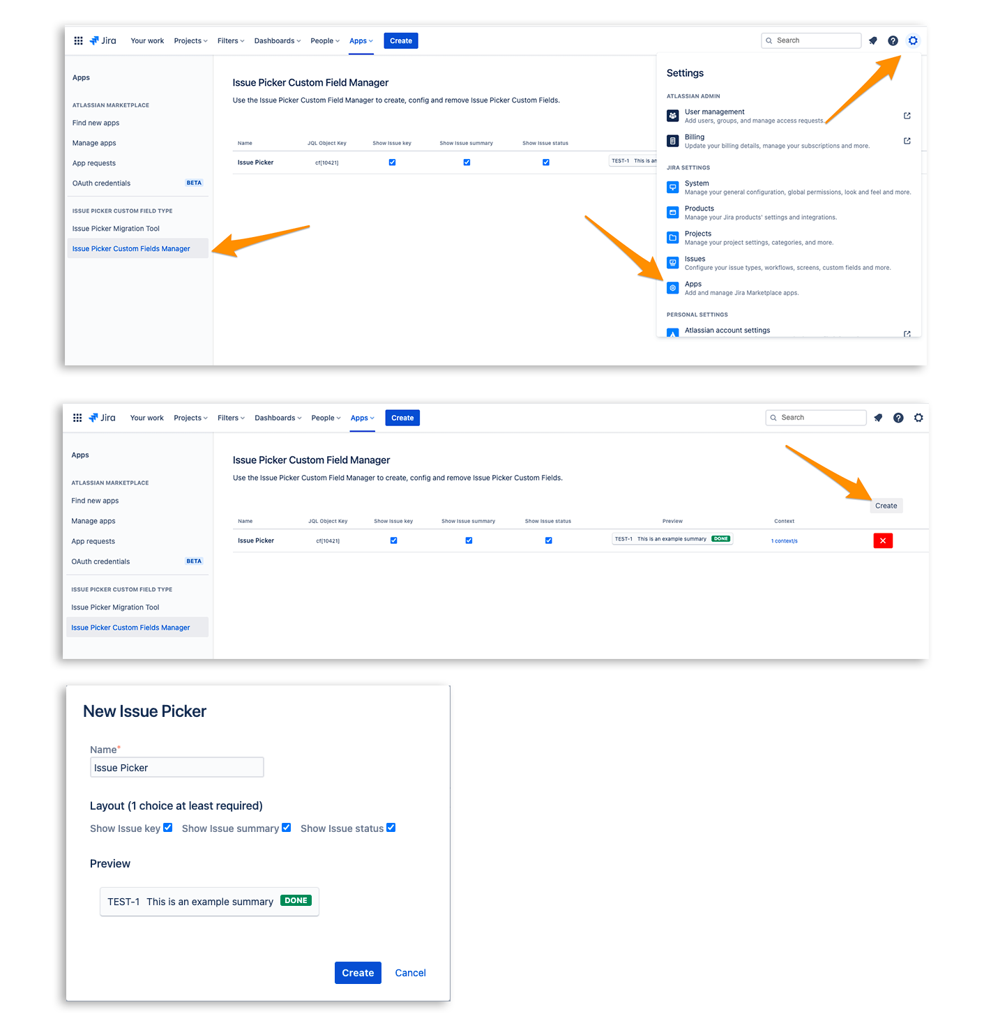 Details Atlassian App Marketplace - Issue Picker Custom Field Type for Jira Cloud