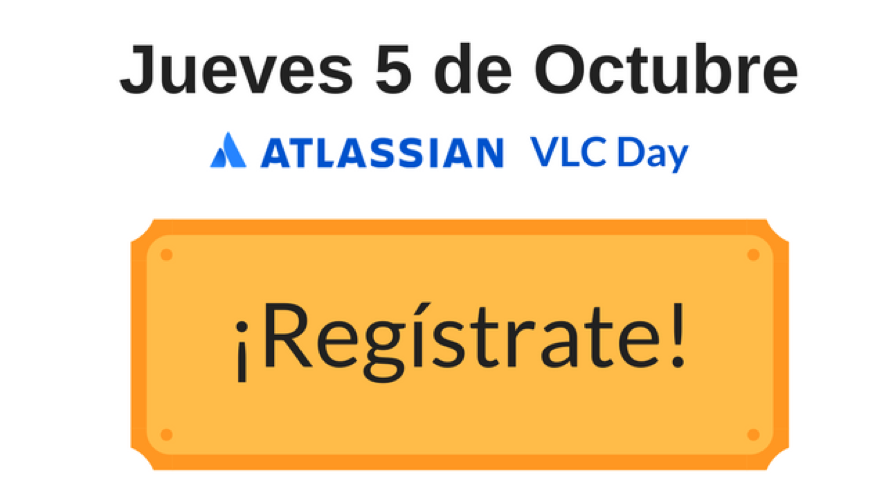 Registrate en el Atlassian VLC Day
